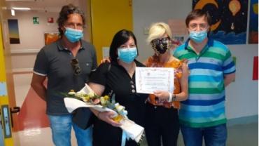 Torrette: inaugurata la sala giochi della Cardiochirurgia pediatrica in memoria di Riccardo